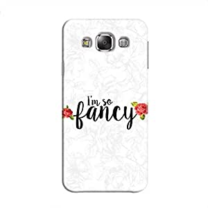 Cover It Up I m So Fancy Flower Hard Case For Samsung Galaxy E7
