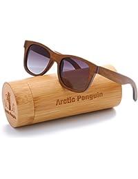 Skateboard Wood Sunglasses Polarized Wayfarer Shades for Men