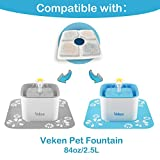 Veken Replacement Filters for 84oz/2.5L Automatic