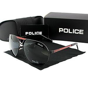 Police Sunglasses Tide Men Polarizing Sunglasses Driver Glasses Anti UV Glasses