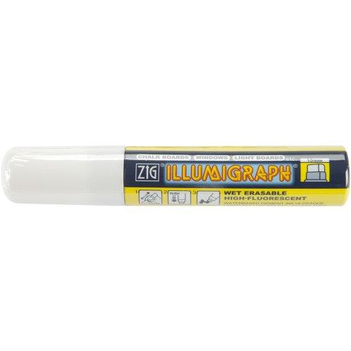Zig 15mm Illumigraph Marker, White