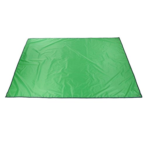 Multifunction Waterproof Camping Floor Tarp For Picnics Tent Footprint And Sunshade Camping Beach Picnic Mat (Green)