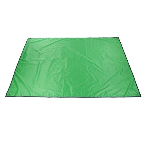 Multifunction Waterproof Camping Floor Tarp For Picnics Tent Footprint And Sunshade Camping Beach Picnic Mat (Green)