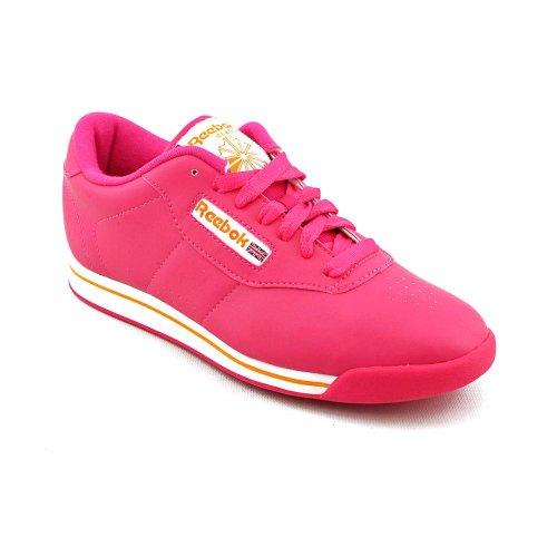 Reebok Women's Princess Sneaker Pink/White