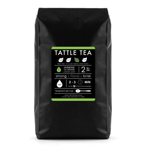 Tattle Tea Jasmine 1st Grade Green Tea, 2 Pound