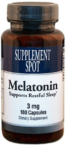 Amazon.com: Melatonina, 180 Cápsulas, 3 mg: Beauty