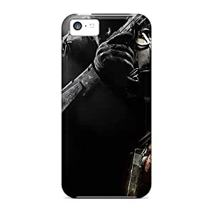 Top Quality Rugged Call Of Duty Black Ops Ii Case Cover For Iphone 5c