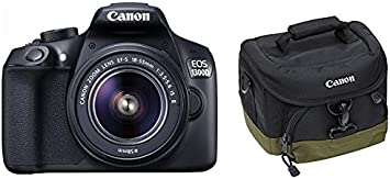 Canon EOS 1300D Cámara digital, pantalla LCD de 3