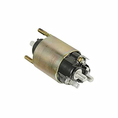 12 Volt, 4 Terminal Solenoid fits Denso Starter 128000-7480, 228000-2640, 128000-5500 and more - 66909641: Automotive