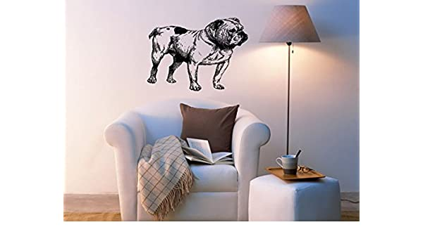 Wall Mural Animal Pug Dog Children Large Repositionable Vinyl Interior Art Decor