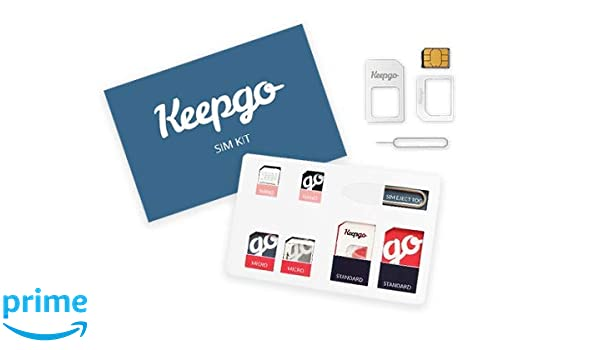 Amazon.com: API SIM Card: Keepgo