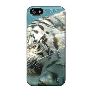 For SamSung Galaxy S5 Mini Phone Case Cover Swimming Tiger