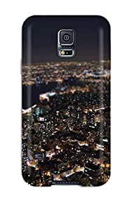 Excellent Design Night Man Made Phone Case For Galaxy S5 Premium Tpu Case Sending Screen Protector in Free
