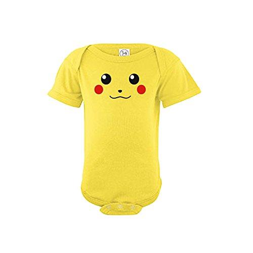 Pikachu-Baby-boys-and-girls-Onesie-Bodysuits