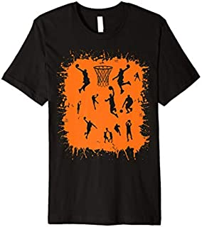 Basketball Players  Gift Basketball Game Camp Practice Premium T-shirt | Size S - 5XL