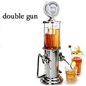 ActionFly Gun Barware Mini Beer Pourer Water Liquid Drink Dispenser Wine Pump Dispenser Machine (Dou