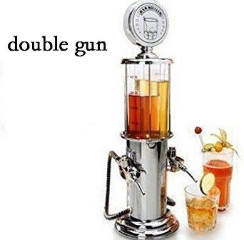 (ActionFly Gun Barware Mini Beer Pourer Water Liquid Drink Dispenser Wine Pump Dispenser Machine (Double)