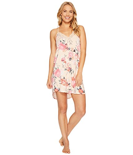 pj-salvage-womens-rosy-outlook-chemise-nightgown-peach-l