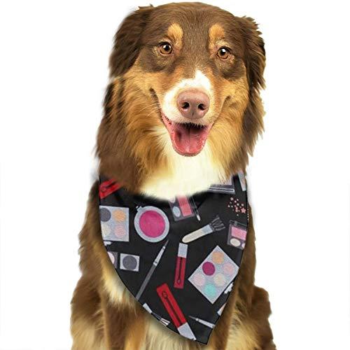 ZZJIAK Dog Bandana Scarf Makeup Set Triangle Bibs Printing Kerchief Set Accessories Dogs Cats -