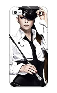 Iphone 5c Case Cover - Slim Fit Tpu Protector Shock Absorbent Case (namie Amuro)