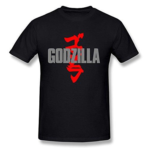 [AOPO O-Neck Godzilla T-shirts For Men] (Real Godzilla Costume)