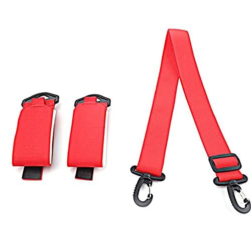 LIADANCE 스키 캐리어 스트랩 조정가능한 스키 어깨를 캐쉬에이션 활 테이프 스트랩 루프를 위한 야외 스키아 손을 무료