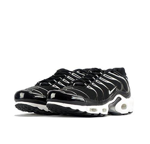 Nike Air Max Plus Prm, Zapatillas De Deporte para Hombre Negro (Negro (Black/Metallic Silver))