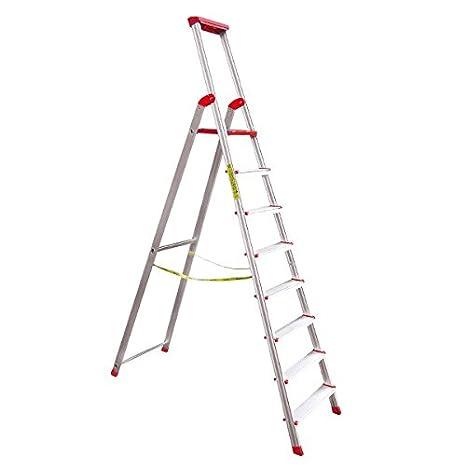 Propac z-scaa9 escalera desmontable industrial, 9 peldaños, 2.75 m Altura: Amazon.es: Industria, empresas y ciencia