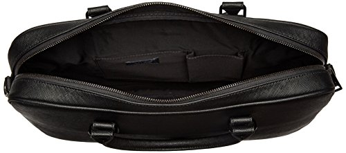 Armani Exchange Men's Saffiano Embossed Briefcase, Black by A|X Armani Exchange (Image #5)