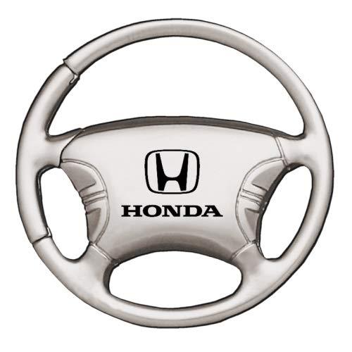 Amazon.com: Honda Volante cromado Llavero: Automotive