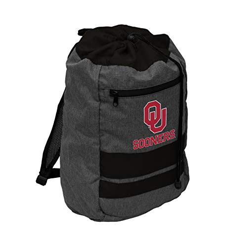 Logo Oklahoma Sooners NCAA Journey Backsack - Cardinal,