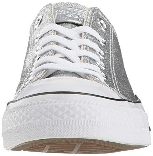 Formatori silver Converse Ctas Ox Silver Synthetic white Donna nqIYrBxn