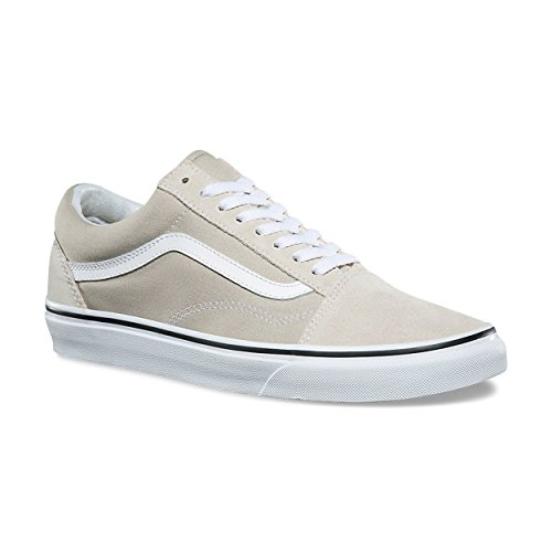 3306c5d1a1 Galleon - Vans Unisex Adult Old Skool Silver Lining True White VN0A38G1QA3  Men s Size 3.5