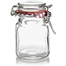Kilner Square Clip Top Spice Jar, 2-Fl Oz