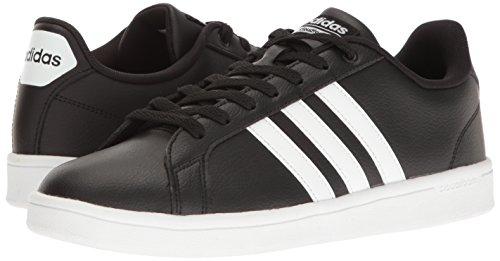 Adidas Men's Shoes   Cloudfoam Advantage Sneakers, Black/White/White, (11 M US)