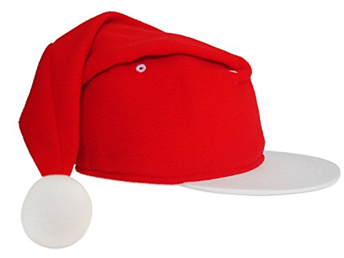 Santa Snapback Holiday Hat for Christmas  Amazon.ca  Toys   Games 0b76f36fd5a