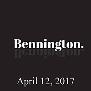 Bennington, Ian Fidance, April 12, 2017 Radio/TV Program