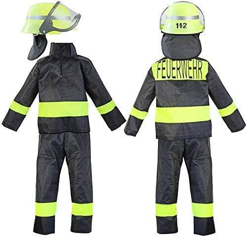 Nerd Clear® - Disfraz de Bomberos para niños (3 Piezas: Casco ...