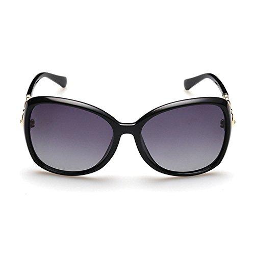 QY De Polarizadas Vendimia Conducción La Marco Y De Color Simplicidad YQ 1 Gafas Gafas Sol Moda 3 De Gafas qgzwE
