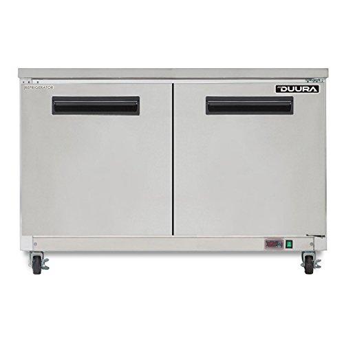 Undercounter Silver Refrigerator (DUURA DVUR48 X-Series Undercounter Refrigerator, Stainless Steel (Discontinued by Manufacturer))
