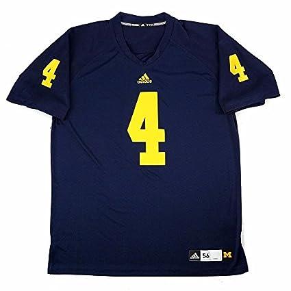 half off 976b1 3e8b0 Amazon.com : adidas Michigan Wolverines NCAA Men's Navy Blue ...