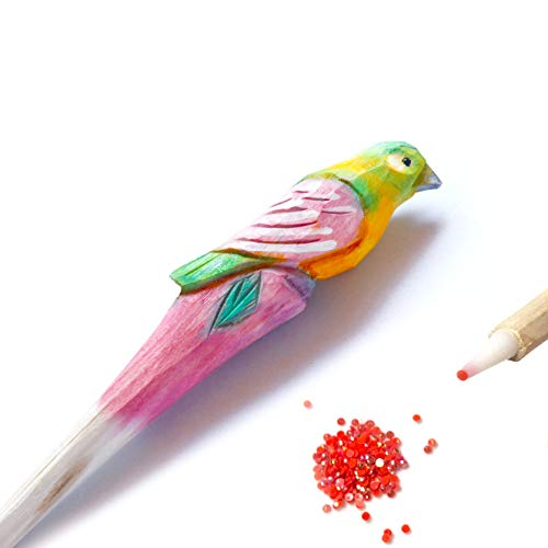 5D Diamond Painting Wooden Drill Pen with placers - Bird