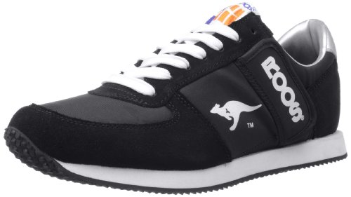 talla Fällt negro Kangaroos de cuero Zapatillas aus para 71490 color hombre Negro Normal F0zF8rqHw