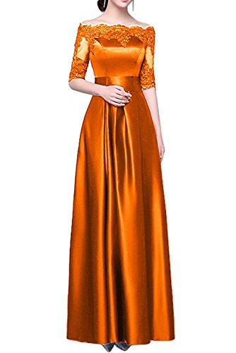 Marie mit Langes Braut Spitze Abschlussballkleider Abendkleider Satin Ballkleider La Orange Cocktailkleider 6wd4x86U