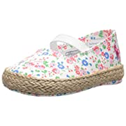 Ralph Lauren Layette Bowman Espadrille (Infant/Toddler), White Floral, 1 M US Infant