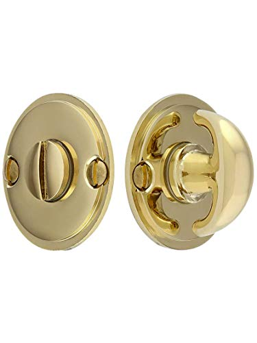 (Thumbturn Privacy Door Bolt in Polished Brass)