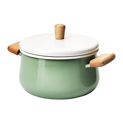 Ikea Hoekkast Grenen.Ikea Kast Rull Pot With Lid Green 3 L Amazon Co Uk Kitchen Home