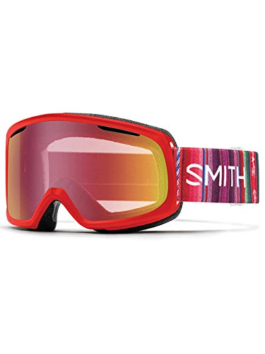 SNOW GOGGLE SMITH OPTICS RIOT SRIACHA CUZCO - RED SENSOR MIRROR