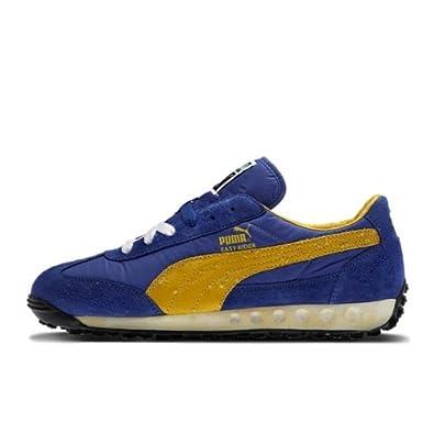 puma schuhe blau gelb