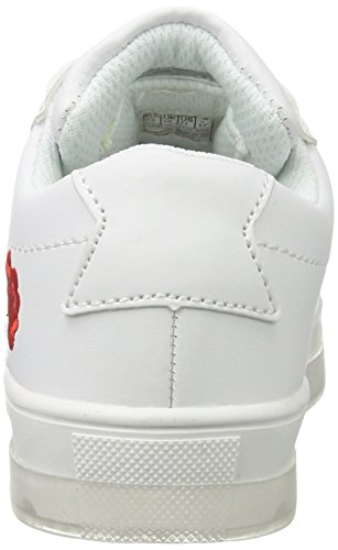 Wei Jr Enfant K Mixte KangaROOS White Wei Baskets Kiss q7YzCE
